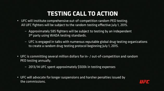 UFC testing 2