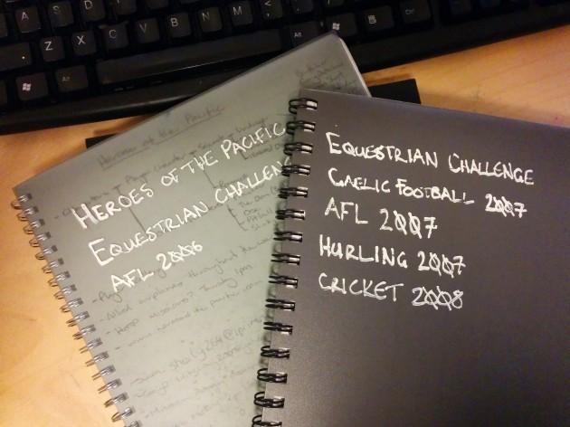 Justin Halliday - Development Notebooks