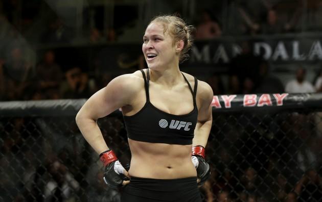 UFC Rousey Carano Mixed Martial Arts