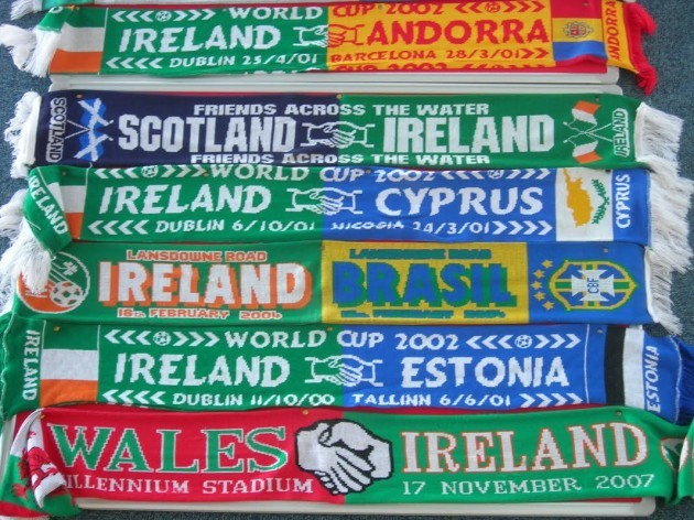 Jim Ryan scarves