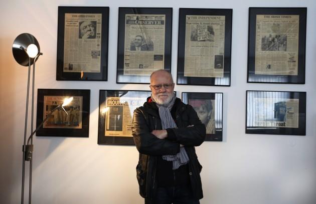 Editor of Photocall Ireland, Eamonn Far