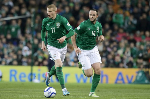 James McClean and Marc Wilson
