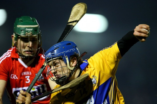 Christopher Joyce tackles Shane O'Donnell