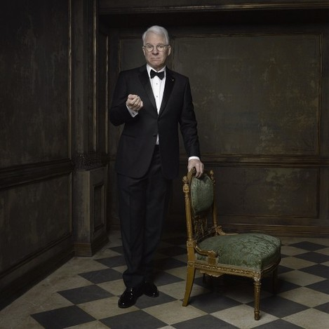 Vanity Fair on Instagram: Original wild and crazy guy Steve Martin inaugurates @markseliger's 2015 #vfoscarparty portrait studio