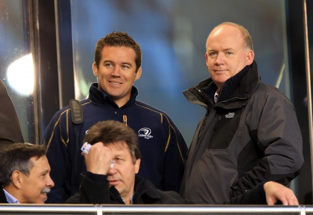 John Fogarty with Declan Kidney