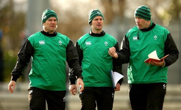 John Fogarty, Nigel Carolan and Colin McEntee