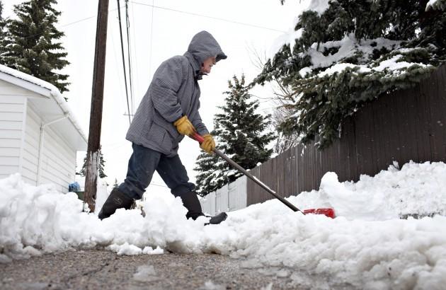 Edmonton Spring Snow