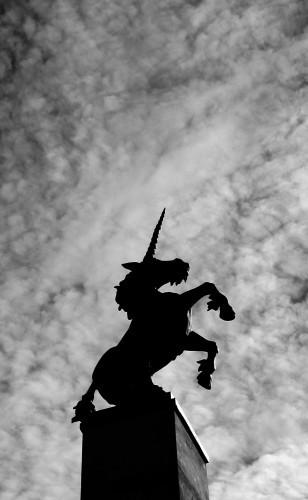 Scotland - Inverness Unicorn Statue