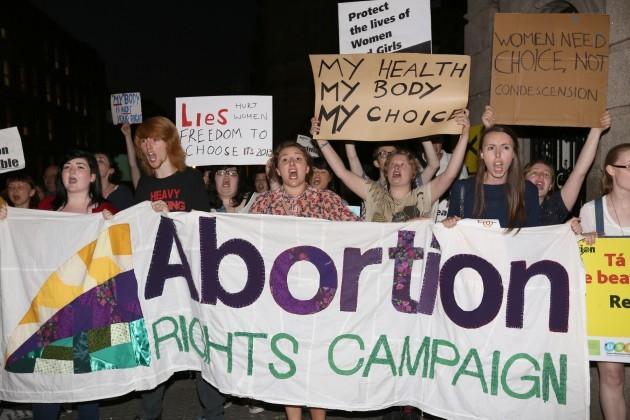 Abortion Legislation Voting Takes Place