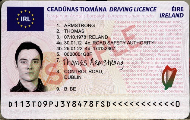 New Plastic Driving Licences