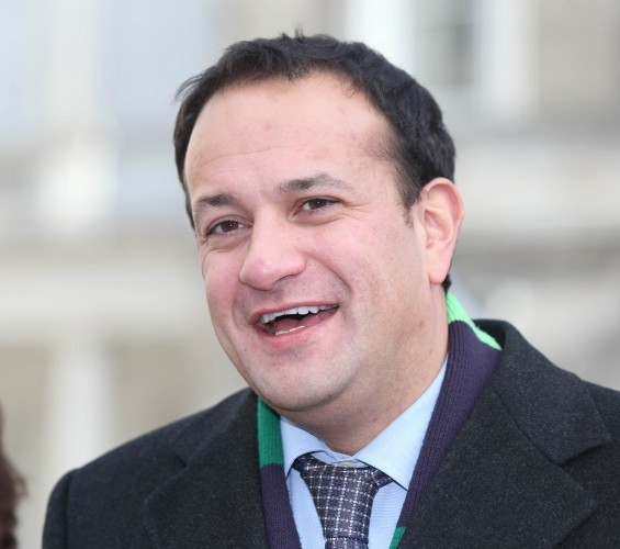 Minister for Health Leo Varadkar arrives