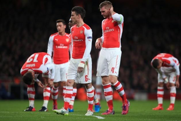 Soccer - UEFA Champions League - Round of 16 - First Leg - Arsenal v AS Monaco - Emirates Stadium