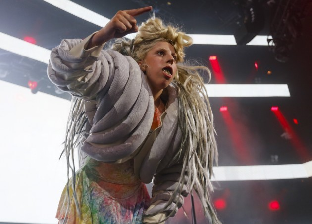 SXSW 2014-Lady Gaga at iTunes Fest