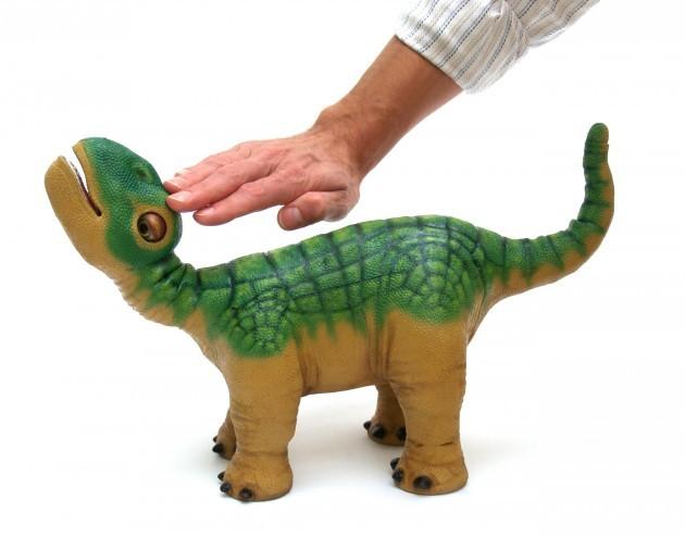 Baby dinosaur toy Pleo