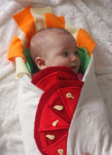Baby Shower Gift - Burrito Baby Blanket, Unique Baby Blanket, Swaddle Blanket, Newborn Blanket, unisex baby blanket, Halloween Costume
