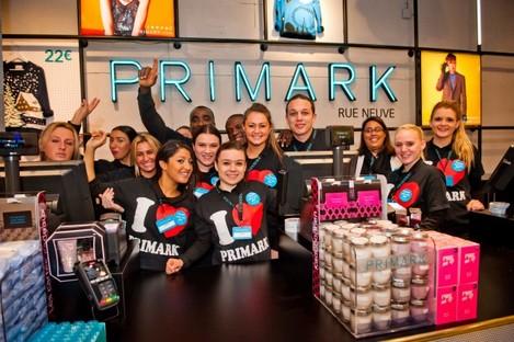 Primark Store Opeing in the Rue Neuve - Nieuwe Straat - Brussels