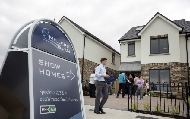 File Photo The Central Bank last night announced the new rules, which will require higher deposits from prospective homebuyers. Under the plan, banks will only be able to lend up to a maximum of 80% of a propertys value.