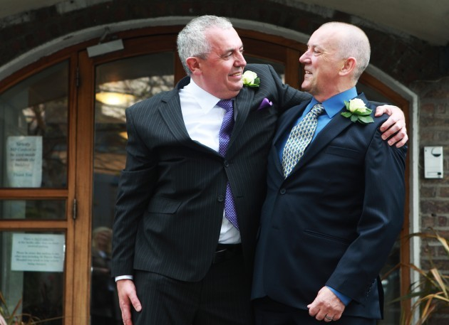 Gay Marriages in Ireland