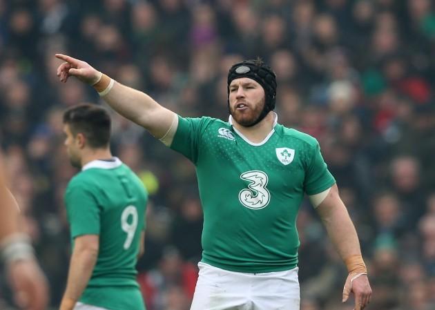 Ireland's Sean O'Brien 1/3/2015