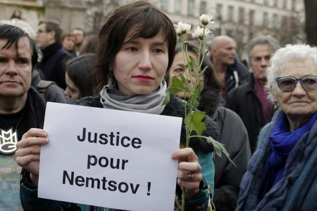 France Russia Nemtsov