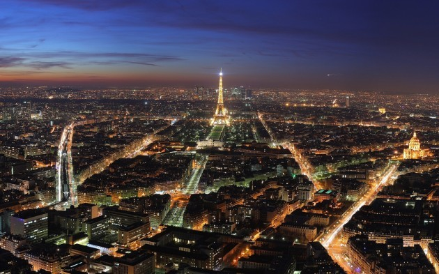 Skyline - Paris, France at night