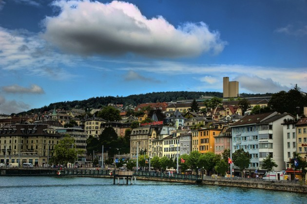 Zurich waterfront