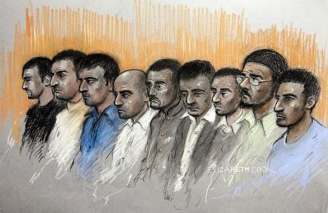 Sex gang court case