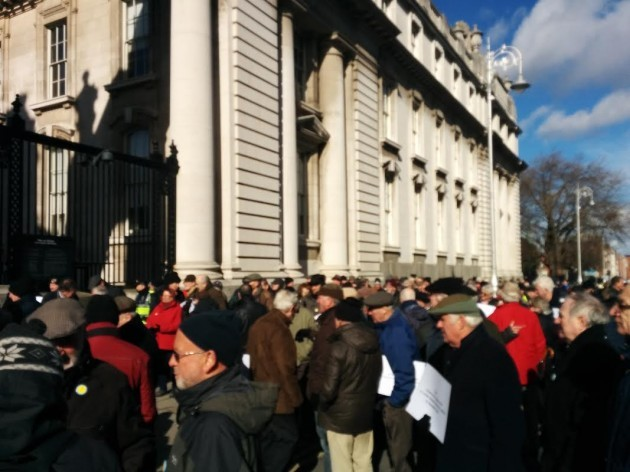 ESB protest pictures