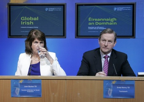 Pictured at the Global Irish: Ireland's D