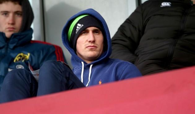 Ian Keatley at the game