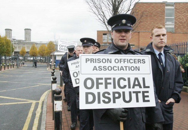 File Pics The POA earlier said it will recommend that prison officers go on strike if the Government imposes any further pay cuts on them.