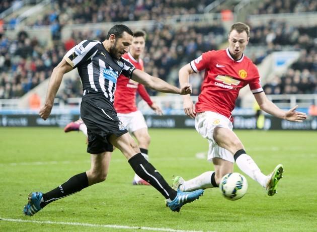Soccer - Barclays Premier League - Newcastle United v Manchester United - St James' Park