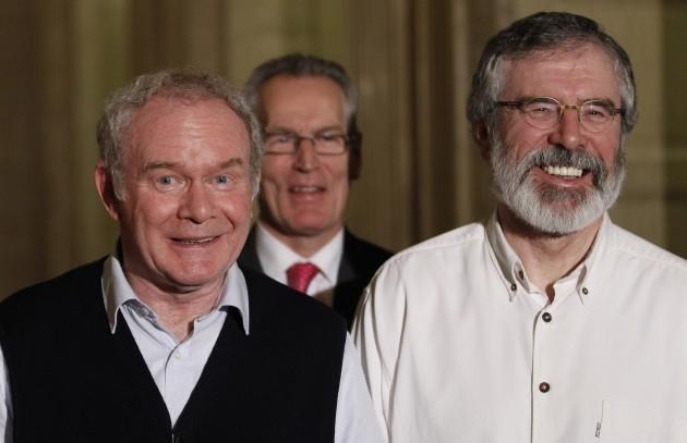 Britain Northern Ireland Political Talks