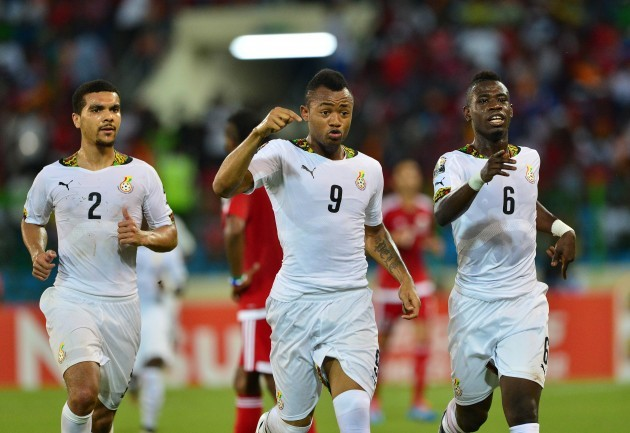 Football - 2015 Africa Cup of Nations Finals - Semifinal - Ghana v Equatorial Guinea - Malabo Stadium