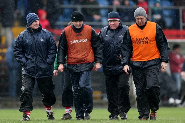 Kieran Kingston, Jimmy Barry-Murphy, Johnny Crowley and Ger Cunningham