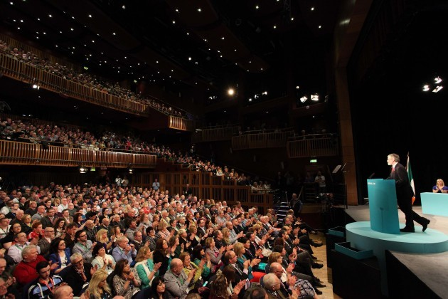 07.03.2015. Gerry Adams Address07