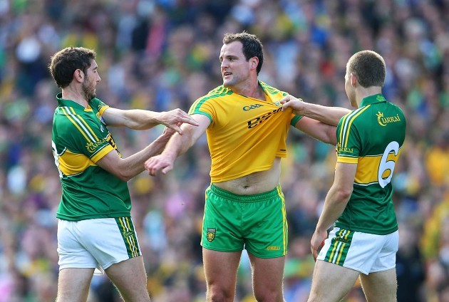 Michael Murphy with Killian Young and Peter Crowley