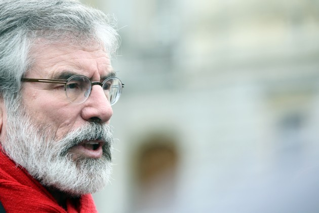 Gerry Adams Dail Scenes
