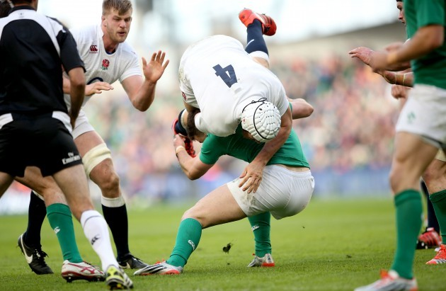 Dave Attwood and Robbie Henshaw