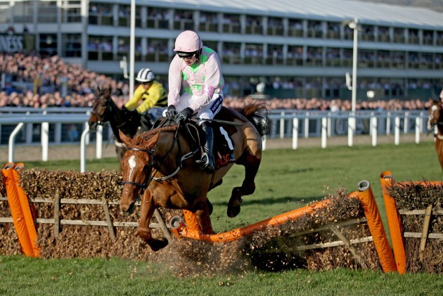 Ruby Walsh and Annie Power fall at the final hurdle