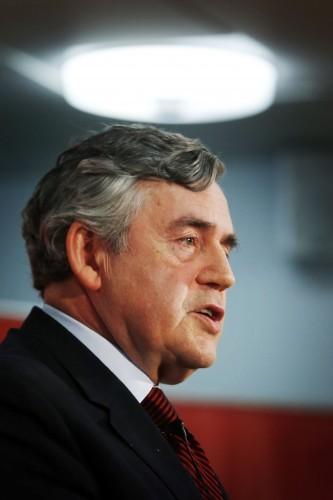 Gordon Brown retirement