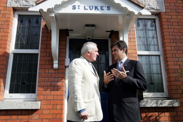 Bertie Ahern meeting with US Special Envoy on Northern Ireland