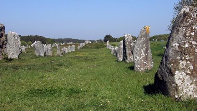 alignements de Carnac / Carnac stones