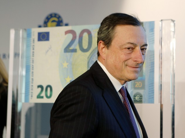 Germany Euro Draghi