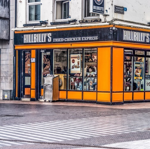 Hillbilly's Chicken Restaurant - Grand Parade (Cork City)