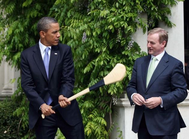 President Obama visit to Ireland - Day One