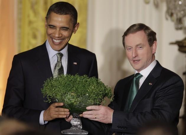Obama St. Patrick's Day