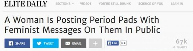 period pads