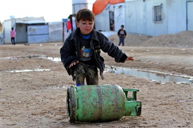 Mideast Jordan Syria