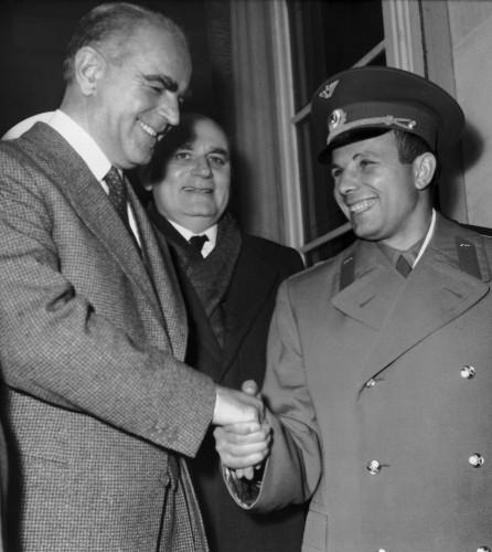 Soviet Astronaut Yuri Gagarin